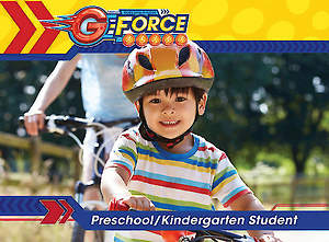 Vacation Bible School (VBS) 2015 G-Force Preschool/Kindergarten Student Book