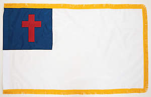 Christian 3X5 Nylon Indoor Flag