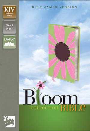 King James Version Thinline Bloom Collection Bible Daisy, Compact