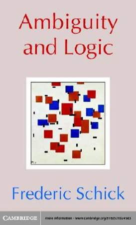 Ambiguity and Logic [Adobe Ebook]