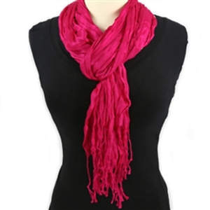 Thai Twisted Scarf - Pink