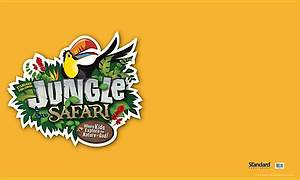 Standard VBS 2014 Jungle Safari Outdoor Banner