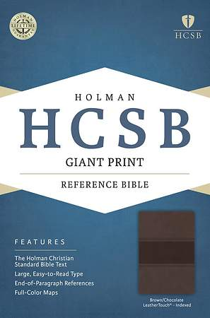HCSB Giant Print Reference Bible.