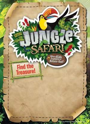 Standard VBS 2014 Jungle Safari Publicity Posters (Pkg5)