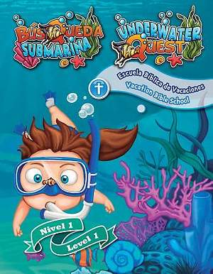 Concordia Bilingual VBS 2015 Underwater Quest Level 1 Leaflets