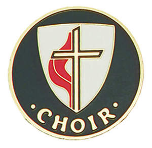 United Methodist Gold-Plated Bronze Choir Pin