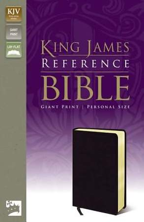 King James Version Reference Bible Giant Print Personal Size
