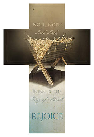 Advent Cross Bookmark - First Noel Rejoice (Pack of 25)