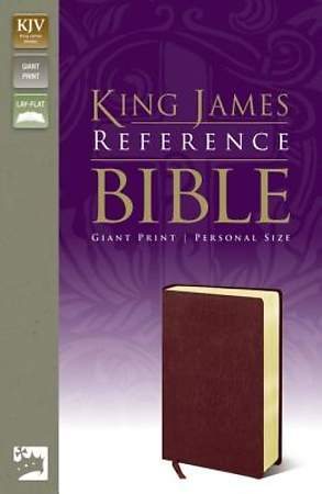 Reference Bible-KJV-Giant Print Personal Size