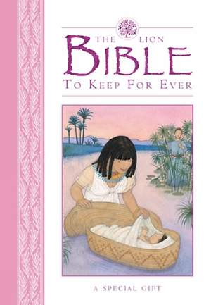 Lion Bible to Keep for Ever (Pink)