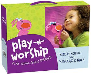 Play-n-Worship Play-Along Bible Stories for Toddlers and Twos