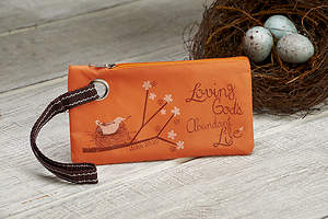 Loving God's Abundant Life Wristlet, Pack of 6
