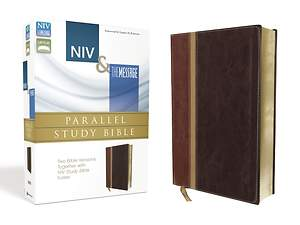 NIV and the Message Side-By-Side Study Bible Personal Size