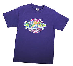Standard VBS 2015 Blast to the Past T-Shirt:  Adult Large