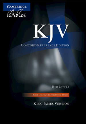 Bible King James Version Concord Reference