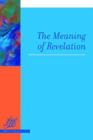 The Meaning of Revelation
