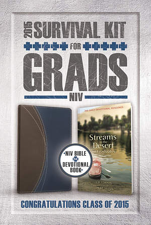 2015 Survival Kit for Grads, NIV  Bible Plus Devotional