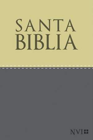 NVI Spanish Compact Bible with Concordance - Duotone