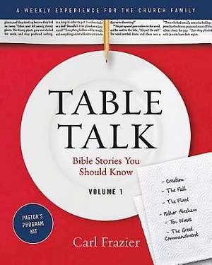 Table Talk Volume 1 - Pastor's Program Kit
