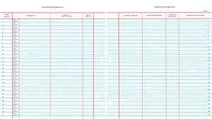 "Westminster Church Register – Register Of Marriage (9 ¾"" x 11"" Sheets)"