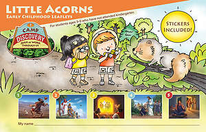 Concordia VBS 2015 Camp Discovery Little Acorns Early Childhood Leaflets and Stickers