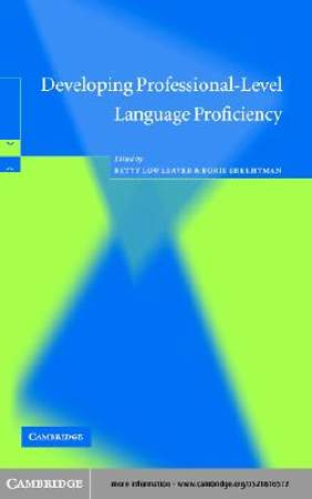 Developing Professional-Level Language Proficiency [Adobe Ebook]