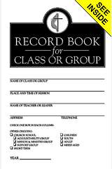 Record Book for Class or Group (Package of 12)