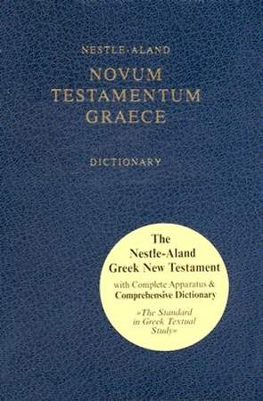 Nestle Aland with Concise English-Greek Dictionary