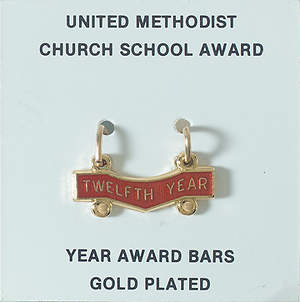 United Methodist Attendance Bar 12