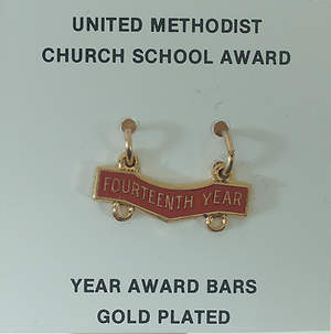 United Methodist Attendance Bar 14