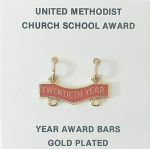 United Methodist Attendance Bar 20