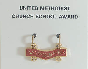 United Methodist Attendance Bar 22