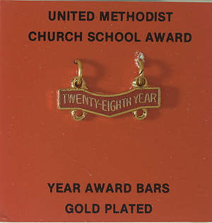 United Methodist Attendance Bar 28