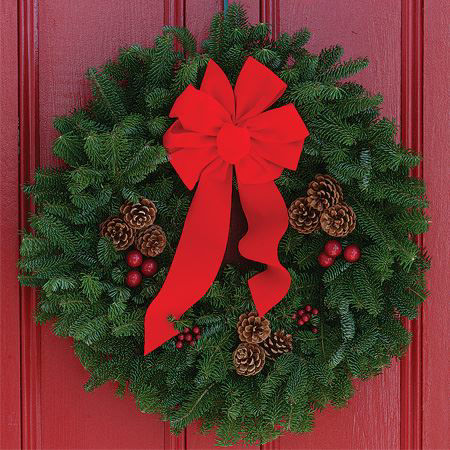 Picture for category Live Evergreen Wreaths